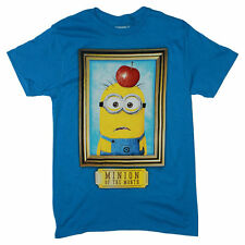 """Despicable Me """"Minion of the Month"""" Blue T-shirt Minions Movie Tee Shirt Funny"""