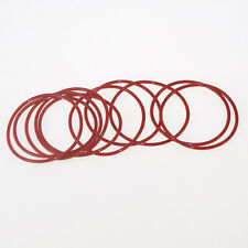 50PCS Silicone Rubber VMQ 4*1mm-40*1mm Seal Rings O-Rings  NEW