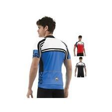 Santini Zest Short Sleeve Full Zip Cycling Jersey SP 942 75 Size:L - Color:Blac