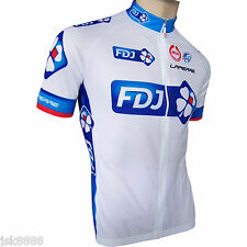 CYCLING BIKE JERSEY TOP SHORT SLEEVE MENS TEAM FDJ 2011NEW WITH TAGS