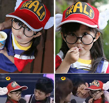 Boys Girls Kids Cute Lovely Arale White Angel Wings Sunblock Baseball Cap Hat