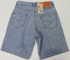 NWT $45 LEVIS 550 DENIM JEANS SHORTS SIZE 32 MENS BLUE RELAXED FIT NEW