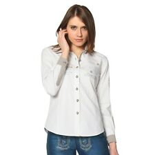 Original German - Traditional blouse Carol white longsleeve