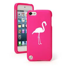For Apple iPod Touch 4th 5th 6th Rubber Hard Case Cover Flamingo