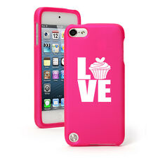 For Apple iPod Touch 4th 5th 6th Rubber Hard Case Cover Love Cupcake