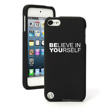 For Apple iPod Touch 4th 5th 6th Rubber Hard Case Be You Believe In Yourself