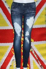 NWT Machine Jeans Crystal Studs Ripped Distressed Stretch Skinny DMP-1A2873JS