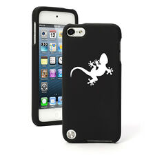 For Apple iPod Touch 4th 5th 6th Rubber Hard Case Cover Gecko Lizard