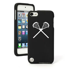For Apple iPod Touch 4th 5th 6th Rubber Hard Case Cover Lacrosse Sticks