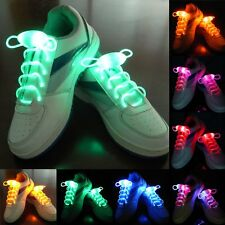 Cool LED Flash Luminous Light Up Glow Shoelaces Waterproof Shoelaces-3 Modes