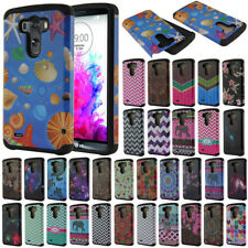 For LG G3 D850 D851 LS990 VS985 D855 AT&T TPU Hybrid Heavy Duty Hard Case Cover