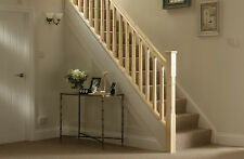 Pine Stair Chamfered Stair & Landing Balustrade Kit - Select Landing Length