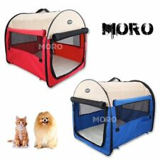 Soft Pet Cat Dog Crate Travel Carrier Cage Kennel Tent House M-XL w/Handle
