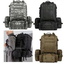 VARIOUS - Tactical MOLLE ASSAULT PACK Military Large 65L Rucksack Bag Backpack