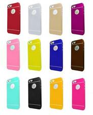 Metal Ultra-thin Aluminum Brushed Hard Back Cover Case For iPhone 4 S 5 S