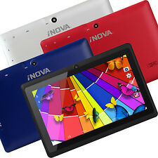 "7"" Tablet PC Quad Core Android 4.4 Wi-Fi Dual Camera 1.2 GHz 512MB RAM iNova"