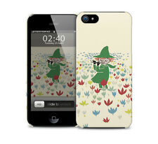 Moomins Snufkin glossy protective phone cover case for most models.