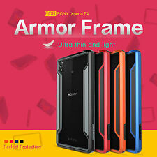 Armor Nillkin Shockproof Border Bumper Frame Case Cover For Sony Xperia Z3 + Z4