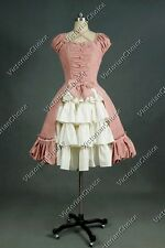 Victorian Gothic Lolita Dress Cosplay Adult Women's Halloween Costumes Punk 024