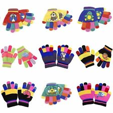 Childrens/Kids Boys/Girls Animal Design Winter Magic Stretch Gloves