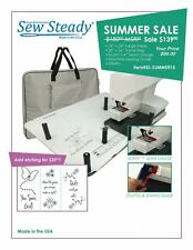 Janome Sew Steady 18X24 LARGE Extension Table SUMMER SALE with Optional Etching