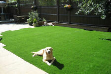 Synthetic Turf Artificial Grass Fake Lawn Rubber Backed With Drainage Holes New