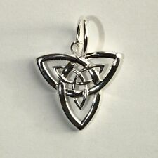 CELTIC TRINITY KNOT- Triquetra - Solid 925 Sterling silver pendant/necklace