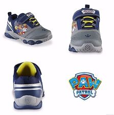PAW PATROL MARSHALL & CHASE Light-Up Sneakers Shoes Sizes 7 8 9 10 11 or 12  $40