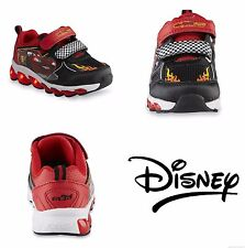 DISNEY CARS LIGHTNING McQUEEN Light-Up Sneakers Shoes Size 8, 9, 10 or 11  $40