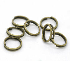New Stainless Steel Double Loop Split Open Jump Ring Connector Making 4-14mm DIY