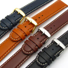 Fine Quality Stitched Padded Leather Watch Band by CONDOR 18mm 20mm 147r