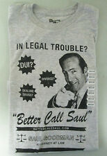 Better Call Saul Goodman Attorney at Law T-Shirt Breaking Bad Men's Size