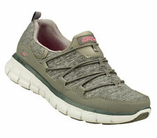 11867 GRY Skechers SYNERGY-ASSET PLAY Women's Walking Shoes Gray