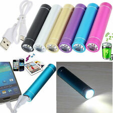 2600mAh External Backup Battery Charger Portable Power Bank w/LED For Cell Phone