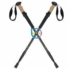 NEW Trekking Pole Walking Hiking Stick Alpenstock Adjustable Anti-Shock