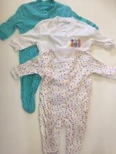 New SET OF 3 SLEEPSUITS PINEAPPLE DESIGN Primark Various Sizes Baby Babygro BNWT