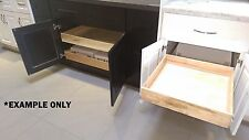 """Sliding 21"""",27"""",33"""" Pull Out shelves/storage for Wall, Base, and Pantry cabinets"""