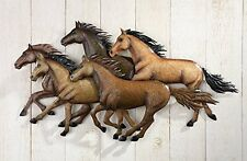 Mustang Horse Western Metal Wall Art Hanging Southwestern Decor Barn Room New