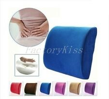 Memory Foam Cushion Back Lumbar Support Pillow for Car Seat Home Office V132 WUS