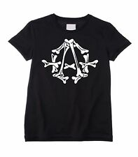 ANARCHY SYMBOL KIDS UNISEX T-SHIRT - Bones, Anarchism, Anarchist, Punk, Age 3-12