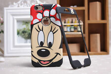 Disney Minnie Mickey Mouse Face iPhone/Samsung Front & Back Plate Case Cover