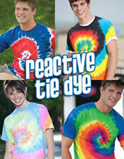 Tie Dye Reactive Dyed T-Shirt Mens Womens T Shirt