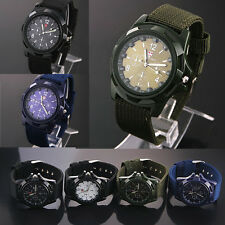 Solider Military Army Green Dial Army Sport Style Luminous Quartz Wrist Watch