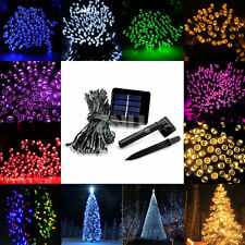 100/200 Led Solar Power Fairy Light String Strip Lamp Party Xmas Garden Outdoor
