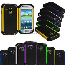 For Samsung Galaxy S3 S III Mini i8190 Rugged Impact Matte Shockproof Hard Case