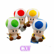 "New Super Mario Toad 7"" Plush toys baby toys Plush Doll kid's gift"