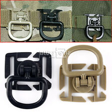 5x Good 360° Rotation D-Ring Buckle MOLLE Webbing Locking Carabiner Backpack