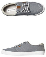 New Kustom Men's Remark 2 Shoe Cotton Canvas Mens Shoes Grey