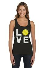 Love Tennis - Gift Idea for Tennis Fans Cool Women Tank Top Novelty Gift Idea