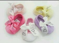Princess baby DIOR Ribbon Chaussures Différentes Couleurs Bnwt 0-18 mois